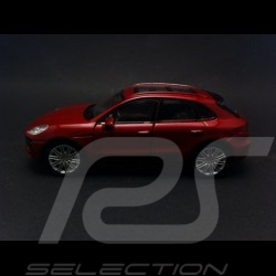 Porsche Macan Turbo Welly rouge jouet à friction pull back toy Spielzeug Reibung