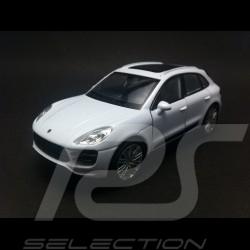 Porsche Macan Turbo weiß Spielzeug Reibung Welly