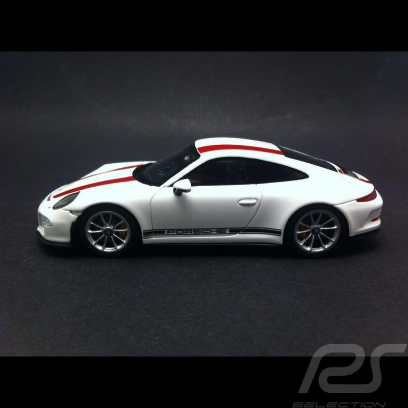 Porsche 991 R 2016 red / white 1/43 Spark WAP0201460J