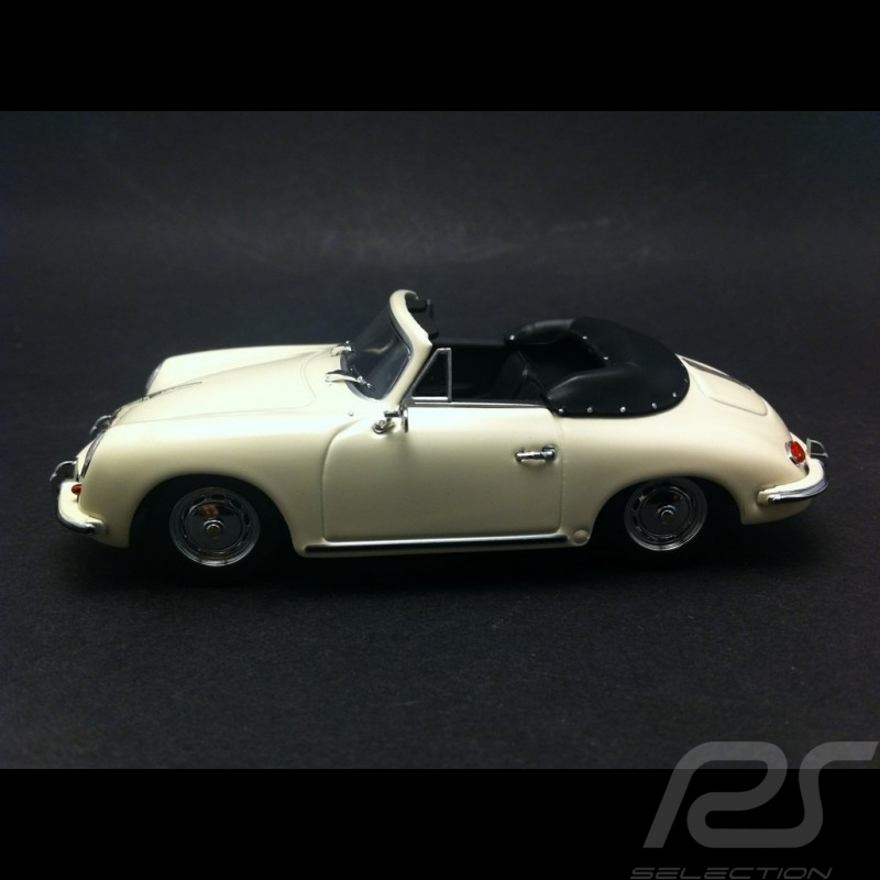 Porsche 356 B Cabriolet ivory 1960 1/43 Minichamps 400064332