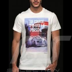 "T-shirt Porsche ""Of course it is still a Porsche"" Adidas weiß - Herren"