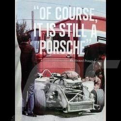 "Porsche Design Adidas T-shirt ""Of course it is still a Porsche"" homme men herren"