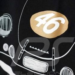 T shirt Porsche 356 n° 46 Adidas noir homme