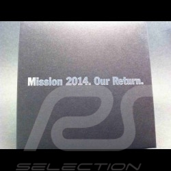 "Badge de grille Porsche 919 Mission 2014 ""Our Return"" MAP04512414 Grille badge GrillBadge"