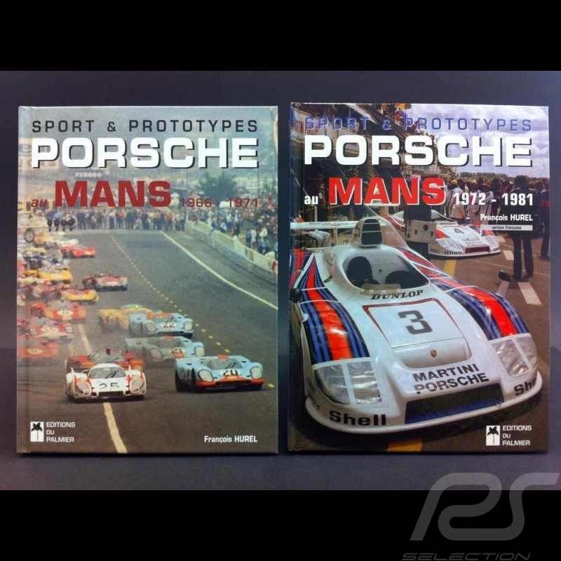 Duo Books Sport & Prototypes Porsche au Mans 1966-1971 and 1972-1981