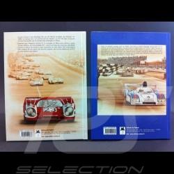 Duo Bücher Sport & Prototypes Porsche au Mans 1966-1971 und 1972-1981
