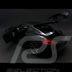 Porsche Cayman GT4 2015 noir black schwarz 1/18 Schuco 450040100