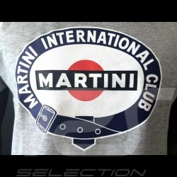 T-Shirt Martini International Club gris - homme men herren