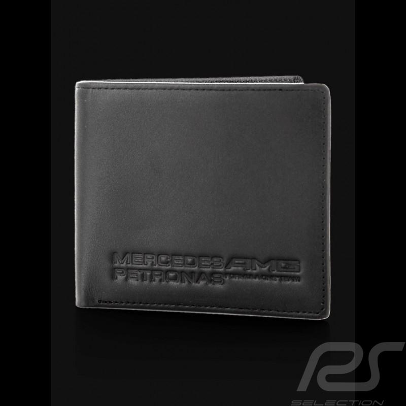 Mercedes AMG schwarze Leder Brieftasche