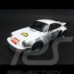 Porsche 911 Carrera 3.0 RS Rallye Hunsrück 1977 n° 1 1/43 Spark MAD008
