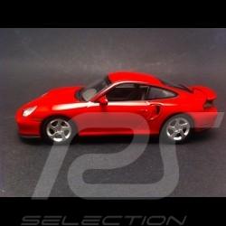 Porsche 996 Turbo 2000 rouge indien 1/43 Minichamps WAP02006410