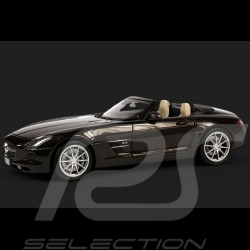 Mercedes SLS AMG Roadster brun 1/18 Minichamps B66960080