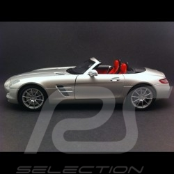 Mercedes SLS AMG Roadster gris argent 1/18 Minichamps B66960078