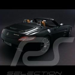 Mercedes SLS AMG Roadster noir 1/18 Minichamps B66960166