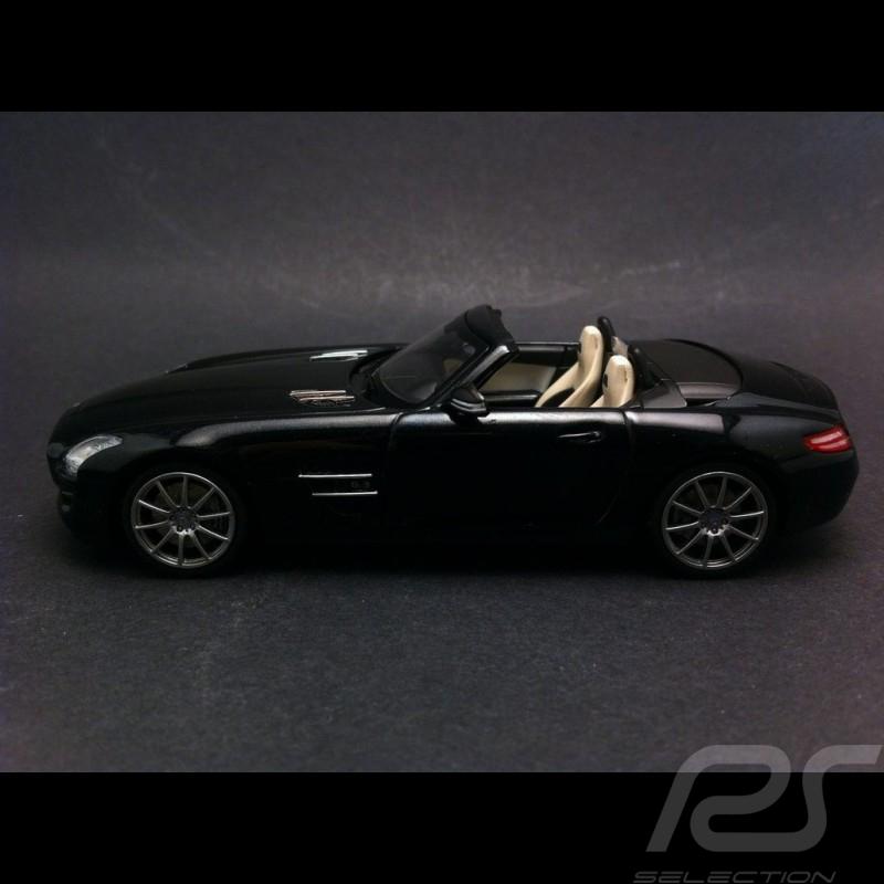 Mercedes SLS AMG Roadster black 1/43 Schuco B66960035