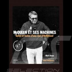 Livre McQueen et ses machines - Autos et motos d'une star d'Hollywood