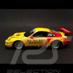 Porsche 997 GT3 cup vainqueur Carrera Cup Asia 2009 n° 99 1/43 Spark S2063