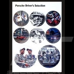 Set of stickers Porsche Racing le Mans