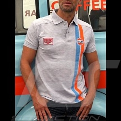 Polo Gulf Stripe grey - men