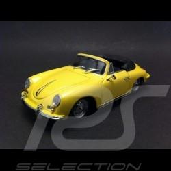 Porsche 356 B Cabriolet 1960 yellow 1/43 Minichamps 400064334