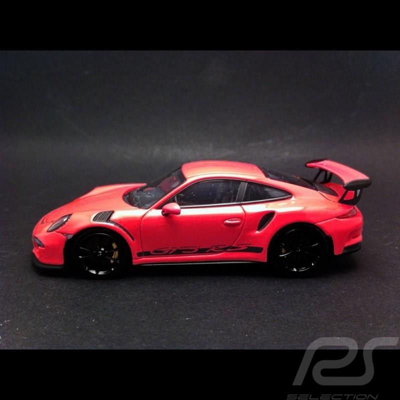 Porsche 991 GT3 RS 2014 Rosa 1/43 Minichamps 413063249