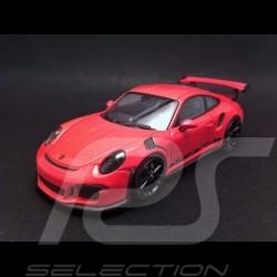 Porsche 991 GT3 RS 2014 Rose 1/43 Minichamps 413063249