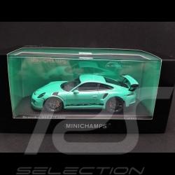 Porsche 991 GT3 RS 2014 vert 1/43 Minichamps 413063248
