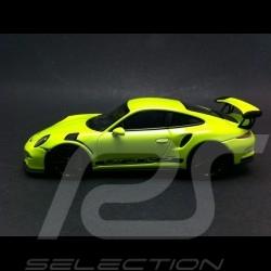 Porsche 991 GT3 RS 2014 vert acide 1/43 Minichamps 413063247