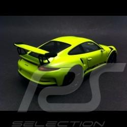 Porsche 991 GT3 RS 2014 acidgrün 1/43 Minichamps 413063247