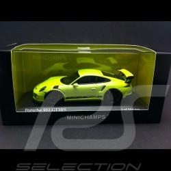 Porsche 991 GT3 RS 2014 acid green 1/43 Minichamps 413063247