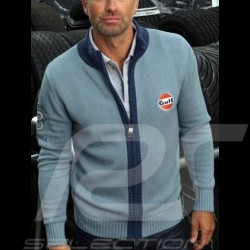 Gilet Gulf tricot n° 8 bleu - homme
