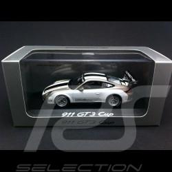 Porsche 997 GT3 Cup 2012 weiß / grau 1/43 Minichamps WAP0200150C