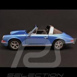 Porsche 911 2.4 S Targa 1972 Bleu Gemini blue Geminiblau 1/18 Schuco 450035400