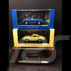 Porsche 901 Coupé 1963 yellow 1/43 Minichamps WAP0209110H