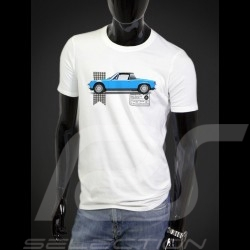 T-shirt Porsche 914 blue - white - Men