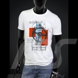 T-Shirt Porsche 917 blanc - homme