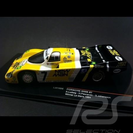 Porsche 956 B winner le Mans 1984 n° 7 New Man 1/43  IXO LM1984