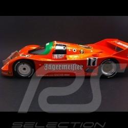 Porsche 962 C Vainqueur 1000 km Spa 1986 n° 17 Jägermeister 1/18 NOREV 187402