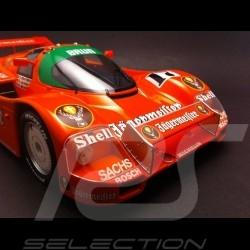 Porsche 962 C Winner 1000 km Spa 1986 n° 17 Jägermeister 1/18 NOREV 187402