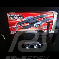 Double axle trailer hitch for Porsche 1/18 Motor Max 76009