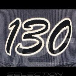 James Dean Little Bastard 130 Casquette velours gris  Cap velvet grey Cap Samt grau