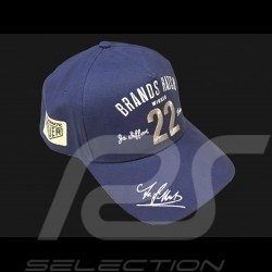 Casquette CAP Jo Siffert Brands Hatch 22 bleue