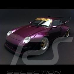 Porsche 993 RWB violet 1/18 GT SPIRIT GT727