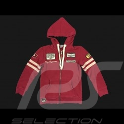 Veste hoodie Clay Regazzoni rouge - enfant  jacket kid Jacke kinder