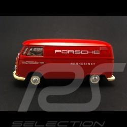 VW T1 fourgon transporteur Porsche Renndienst rouge 1/43 Premium ClassiXXS 13801