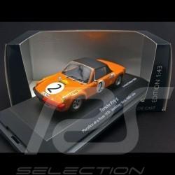 Porsche 914 6 Marathon de la route 1970 n° 2 1/43 Schuco 450369900