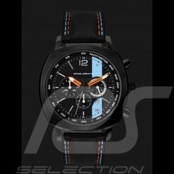 Montre Chrono Gulf Racing boitier noir / fond noir Watch uhr