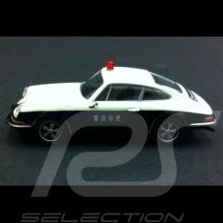 Porsche 911 police japonaise 1/87 Brekina 162092