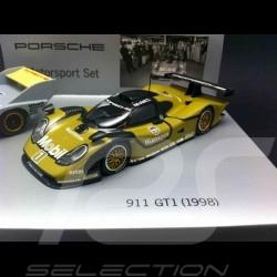Porsche History Set Motorsport 956 KH 911 GT1 1/43 Minichamps WAP020SET28