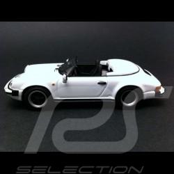 Porsche 911 Carrera Speedster 3.2 1989 blanche 1/43 Minichamps WAP0200360A